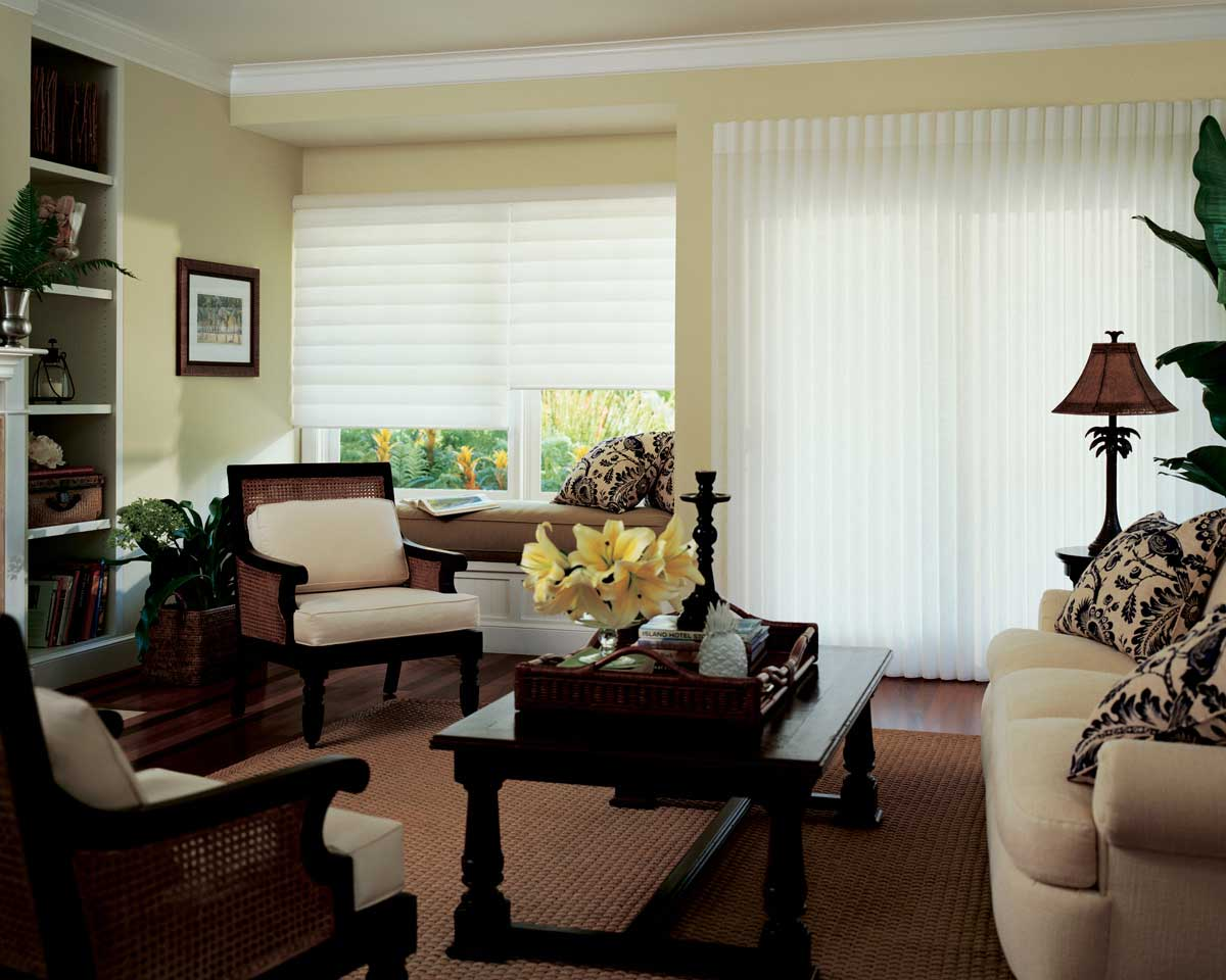Luminette® Privacy Sheers with Silhouette® Window Shadings