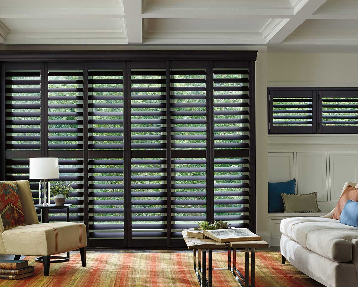 Real Hardwood Shutters by TWG Fabrics