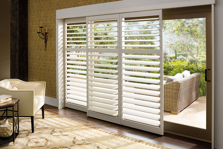 New Style® Hybrid Shutters Hinged Panel