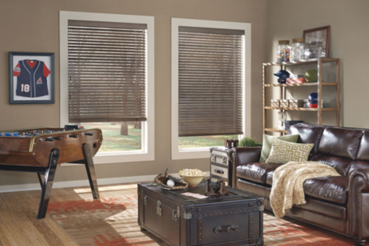 Parkland® Wood Blinds Weathered®