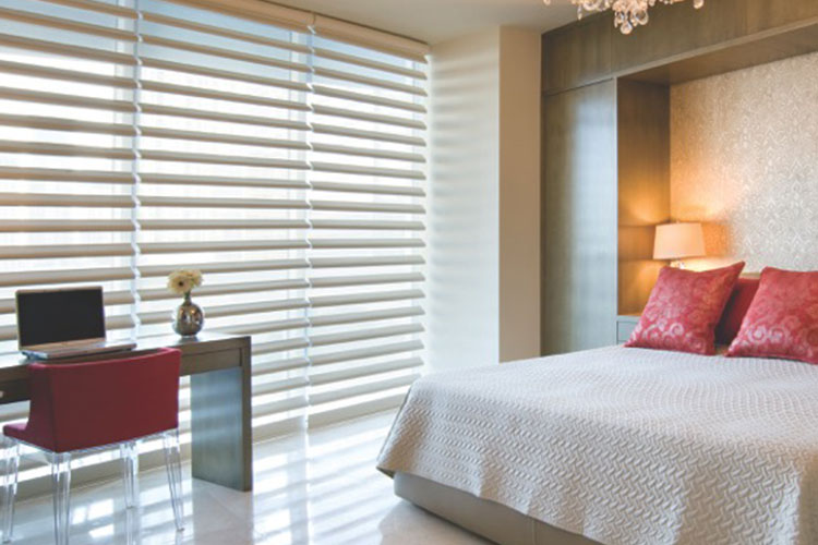Pirouette Window Shadings for Bedrooms in Middletown
