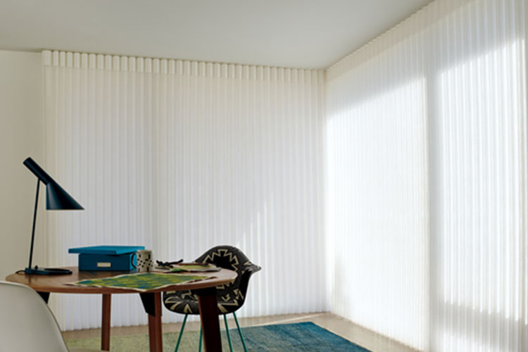 Luminette® Privacy Sheers Closed View