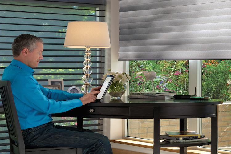 Vignette® Modern Roman Shades Powerview®