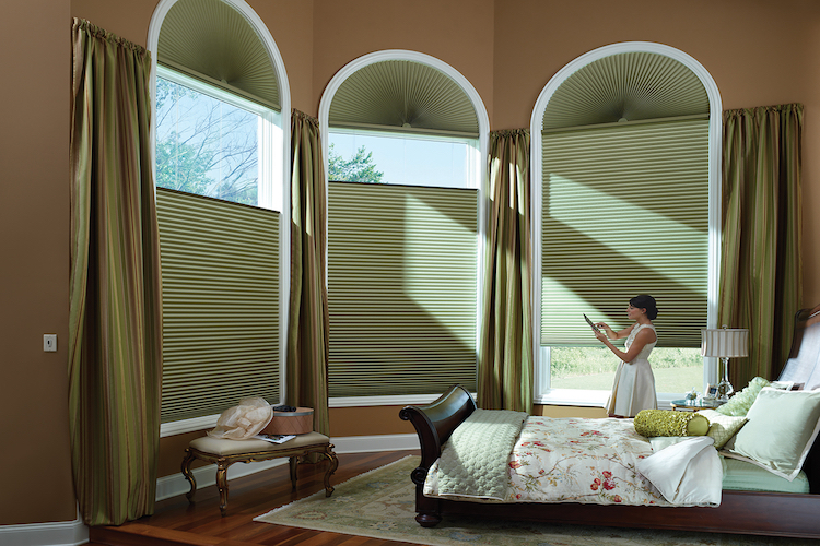 Duette® Honeycomb Shades PowerView® Motorization