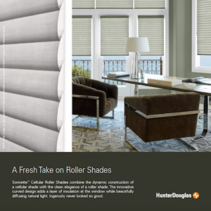 Hunter Douglas Cellular roller shades