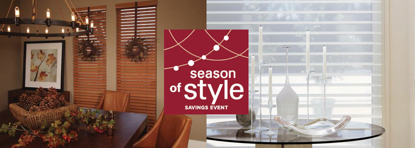 Fall sale coupon for select window fashions